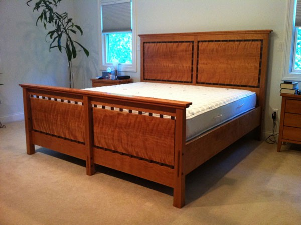 Custom, high-end, hand-crafted beds